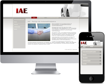 Website IAE GmbH