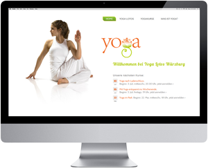 Website Yoga Lotos